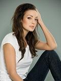 Een foto van de lookalike en imitator van  Angelina Jolie