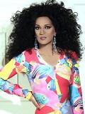 Een foto van de lookalike van Diana Ross