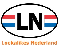 Het logo van Lookalikes Nederland