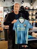Een foto van de lookalike van Jaap Stam