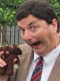 Een foto van de lookalike en imitator van  Mr Bean
