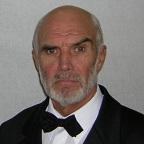 Een foto van de lookalike en imitator vanSean Connery