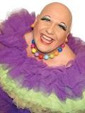 Een foto van de lookalike van Sugar Lee Hooper